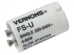 Flourescent Tube Starter Switch 4 - 65 Watts