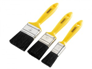 Hobby Paint Brush Set of 3 25 38 & 50mm