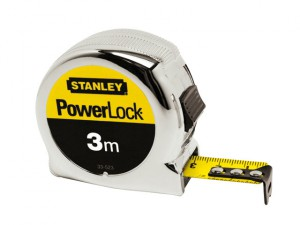 PowerLock® Classic Pocket Tape 3m (Width 19mm) (Metric only)