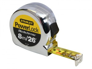 Powerlock Rule Blade Armor 8m/26ft (Width 25mm)