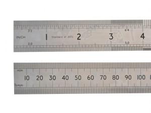 64SR Chrome Rule 1 Metre / 39in