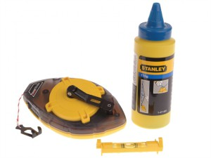 Power Winder Chalk Line 30m , Chalk & Level