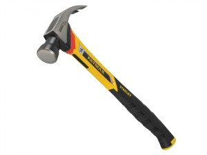 FatMax Vibration Dampening Curved Claw Nailing Hammer 400g (14oz)
