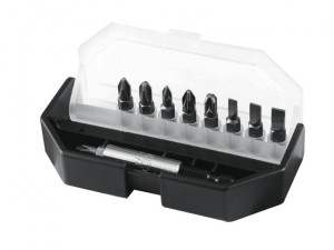 Insert Bit Set Slotted/ Phillips/ Pozidriv 10 Piece
