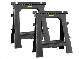 Folding Sawhorses (Twin Pack)