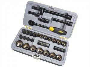 FatMax® Black Socket Set of 30 Metric 1/2in Drive
