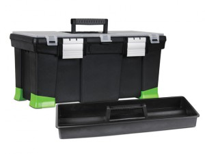 Toolbox with Hi-Viz Tapered Corners 55cm (22in)