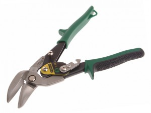 Green Offset Aviation Snip Right Cut 250mm