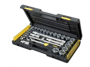 MicroTough Socket Set of 29 Metric 1/2in Drive