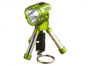 Mini Tripod Keychain Flashlight