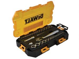 DWMT73804 Tough Socket Set 34 Piece 1/4in & 3/8in Drive