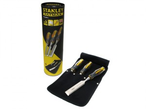 FatMax® Bevel Edge Chisel With Thru Tang Set of 3