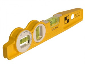 81 SV REM W360 Rare Earth Magnetic Torpedo Level 25cm Rotating