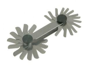 156M Screw Pitch Gauges 0.25 - 2.50mm