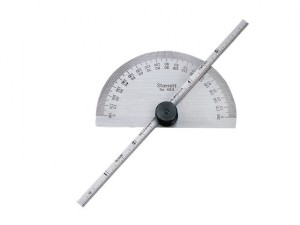 C493ME Protractor & Depth Gauge 150mm (6in)