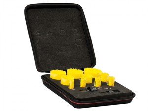 KDC10021 Deep Cut Bi-Metal Deluxe Electrician's Holesaw Kit 12 Piece