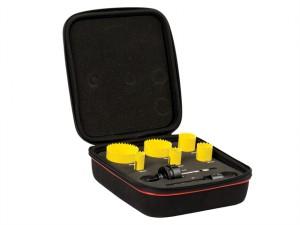 KFC06022 Bi-Metal Fast Cut Electrician's Holesaw Kit