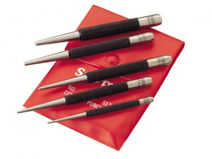 S117PC Centre Punch Set 5 Piece