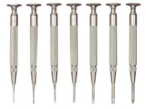 S555Z-7 Jeweller's Screwdriver Set of 7