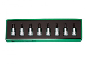 Torx Bit Socket 3/8in Drive Set (8)