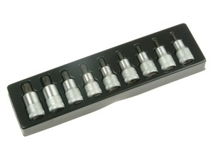 Torx Socket Set 9 1/2in Drive