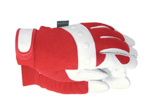 TGL104M Comfort Fit Red Gloves Ladies' - Medium