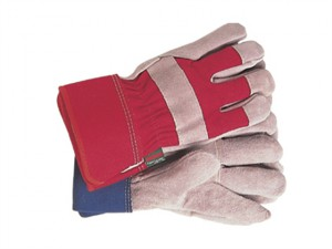 TGL106S All Round Rigger Gloves Navy/Red Ladies - Small