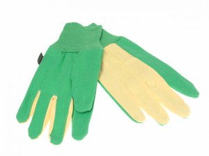 TGL209 The Gardener Gloves Green/Burgundy