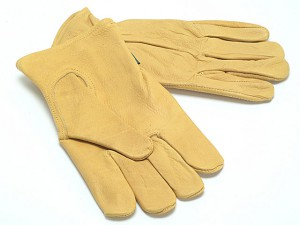 TGL408L Mens Grain Cowhide Gloves Mens - Large