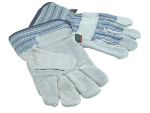 TGL410 Mens Suede Leather Palm Gloves