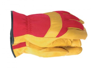 TGL420 Men's Deluxe Leather Palm Gloves - Medium