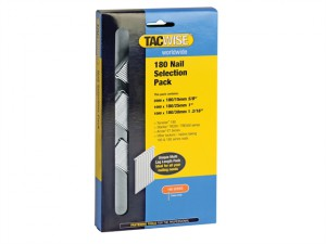 180 18 Gauge Nail Selection Pack 4000