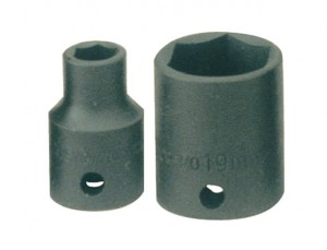 Impact Socket Hexagon 6 Point 3/8in Drive 8mm
