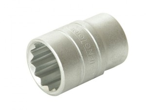 Bi-Hexagon Socket 12 Point Regular A/F 1/2in Drive 5/8in