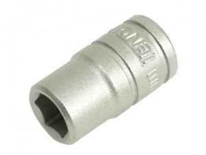 Hexagon Socket 6 Point Regular AF 1/4in Drive 3/16in