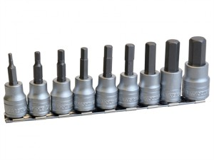 M3812 Socket Clip Rail Hex Socket Metric 3/8in Drive
