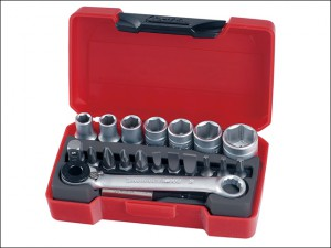 T1420 Socket Bit Set of 20 1/4in Drive