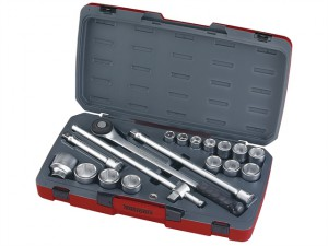 T3418-6 Socket Set of 18 Metric 3/4in Drive