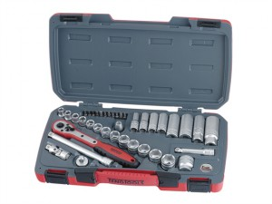 T3839 Socket Set of 39 Metric 3/8in Drive
