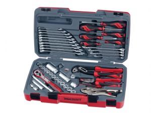 T3848 Socket & Tool Set of 48 Metric & AF 3/8in Drive