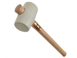 952W White Rubber Mallet 54mm 375g