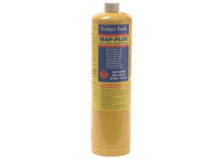 Yellow Map-Plus Gas Cylinder 453g