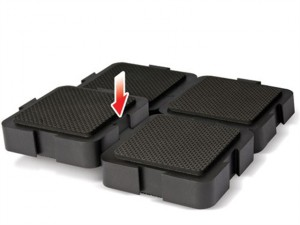 Loc/blk/pk1 Loc Block Support Pack (Anti-Slip)