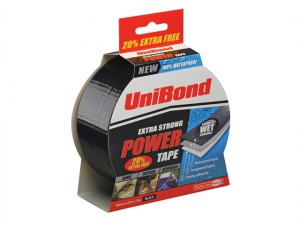 Powertape Black 50mm x 25m + 20% free
