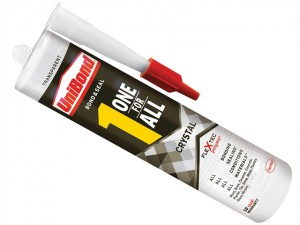One For All Adhesive & Sealant Crystal Clear