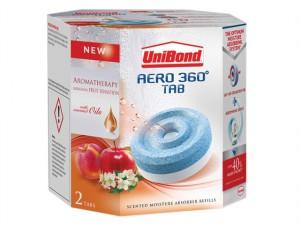 Aero 360 Moisture Absorber Aromatherapy Fruit Sensation Refills Pack of 2