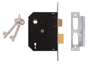 2295 2 Lever Mortice Sashlock Polished Brass 63mm 2.5in Visi