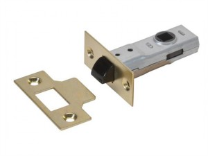 Y2600 Tubular Latch Essentials Polished Brass Finish 65mm 2.5in Visi