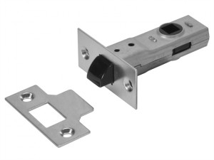 Y2600 Tubular Latch Essentials Zinc Plated 65mm 2.5in Visi