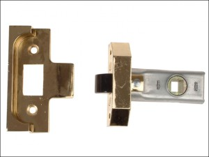 Rebated Tubular Mortice Latch 2650 Electro Brass 63mm 2.5in